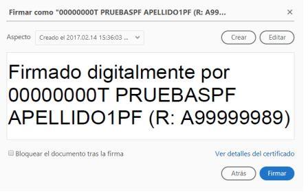 Firma digital electrónica en pdf
