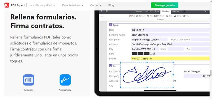 Ilustración 2 PDF Expert para iPhone y iPad