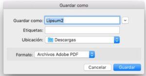 Paso 4 firmar pdf con certificado digital en MAC