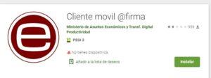 cliente movil firma app
